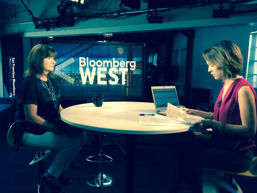 Andy on Bloomberg West 3