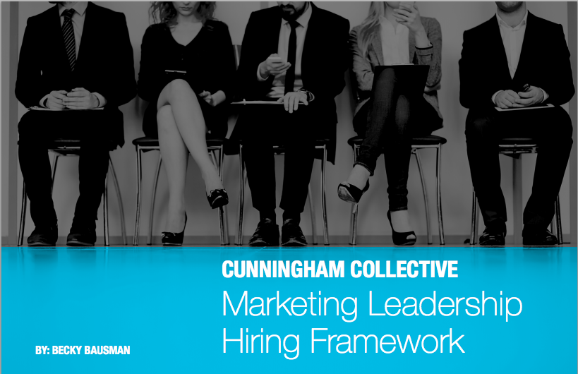 Marketing Leadership Hiring Framework