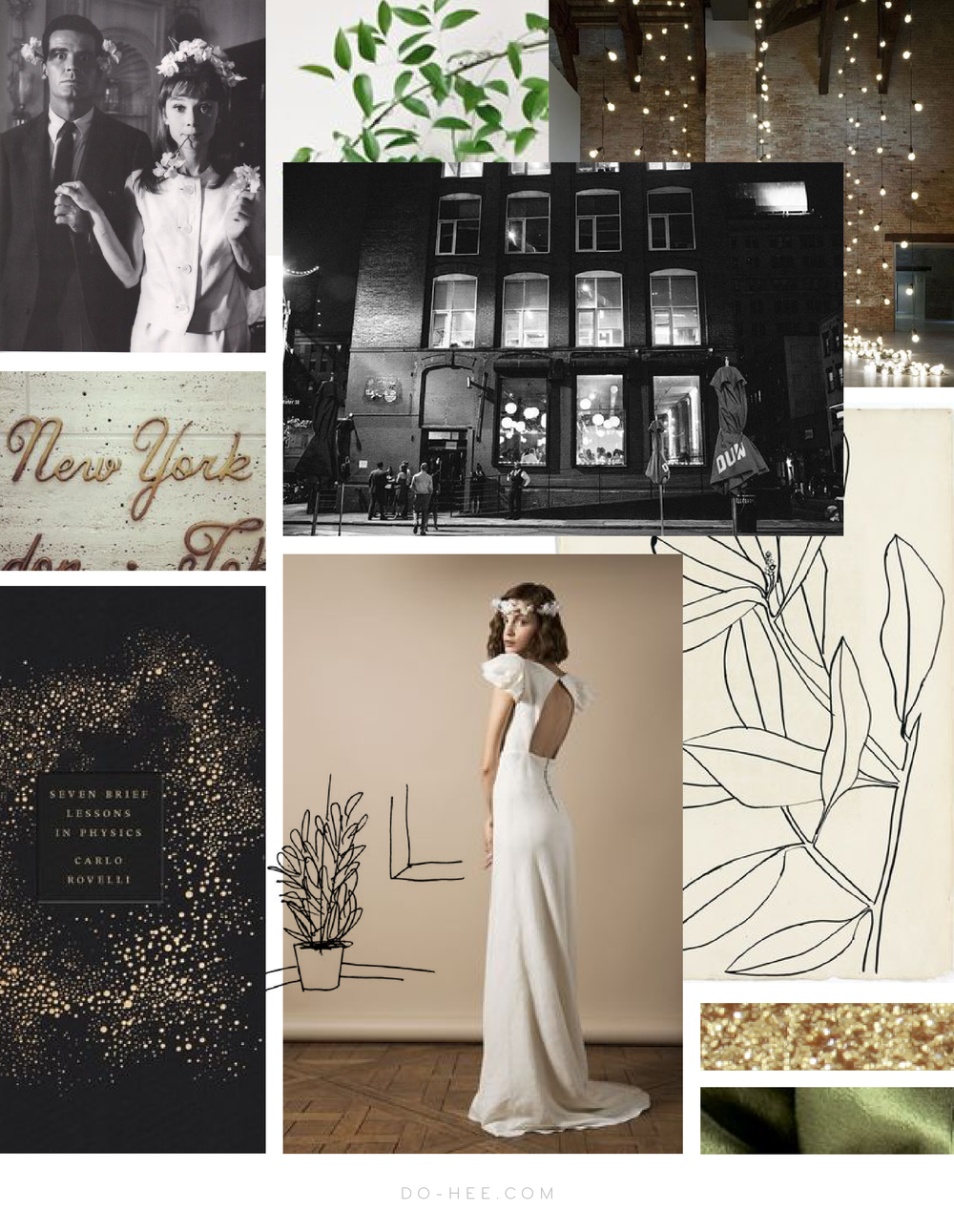 Brooklyn Wedding Moodboard
