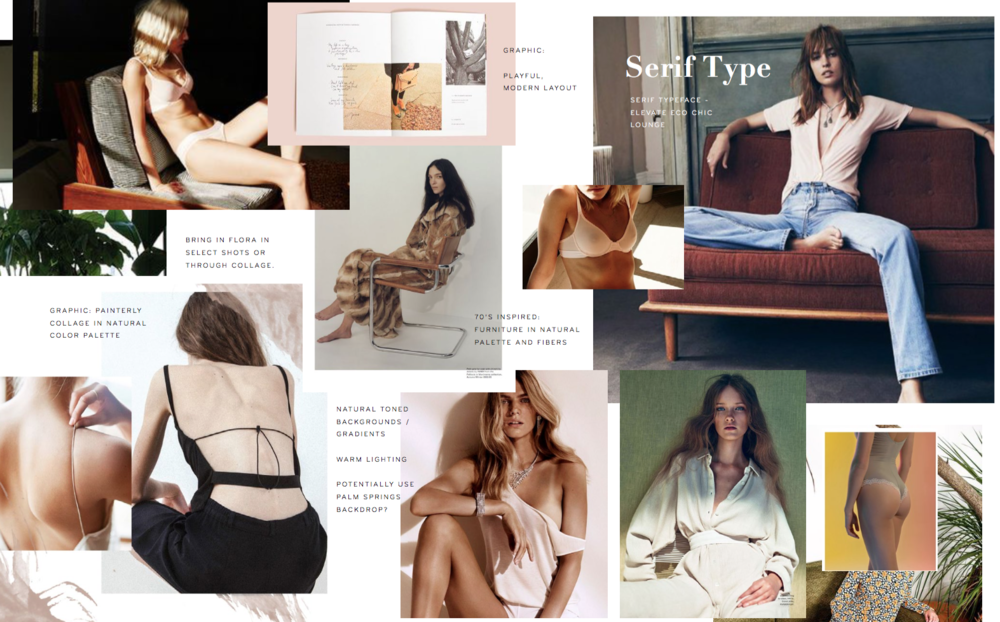 True&Co. SS'16 - E-commerce fashion catalog shoot moodboard by Do-Hee Kim - www.do-hee.com