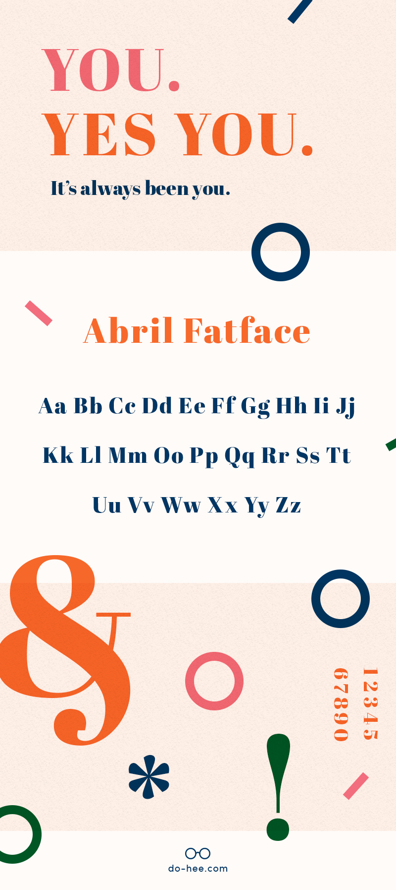 Abril Fatface - Best Free Font to Use on Your Website
