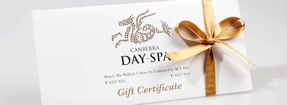 Gift vouchers canberra day spa for Spa gifi