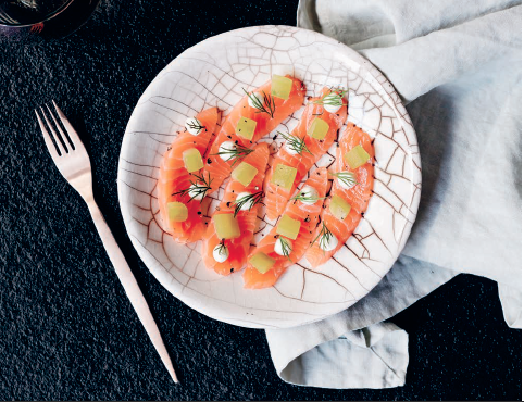 This is the perfect starter for a summer dinner with friends. Enjoy with a glass of riesling or pinot gris to get your palate excited for the coming meal!