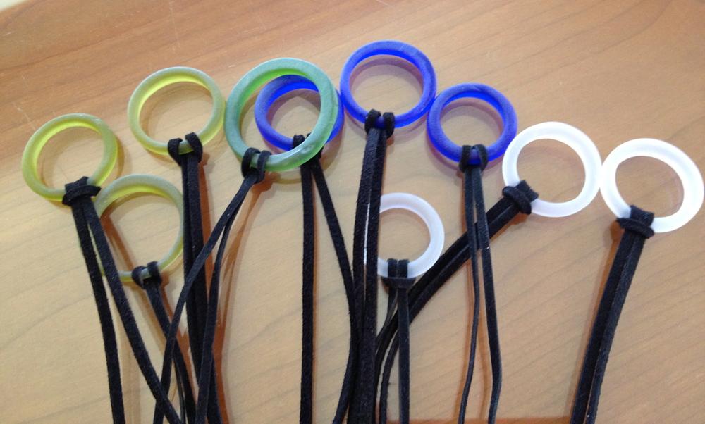 Copy of Assortment of bottle sea glass velvet cord necklaces.JPG