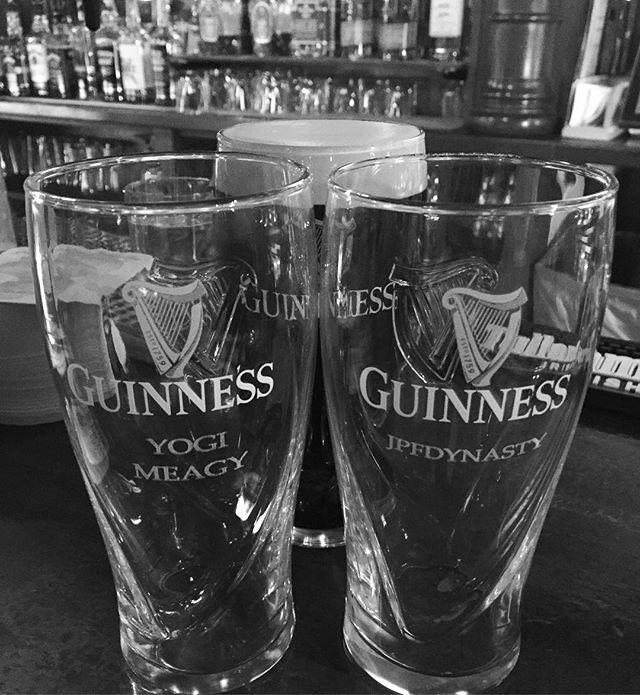 Happy St Patrick's Day to my two favorite leprechauns 🍀🍀 #stpatricksday #guinness #slainte