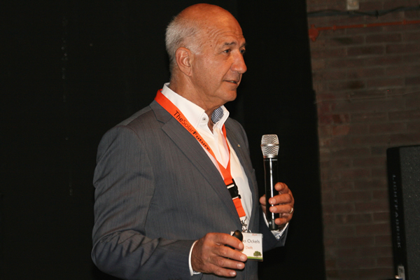 "Wubbo Ockels speaking at our ""The Solar Future: NL '12"" event"