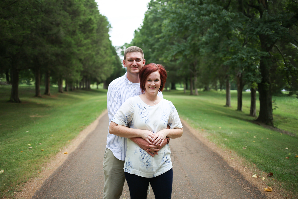 Sam Davis Home Engagement Picture - Whit Meza Photography