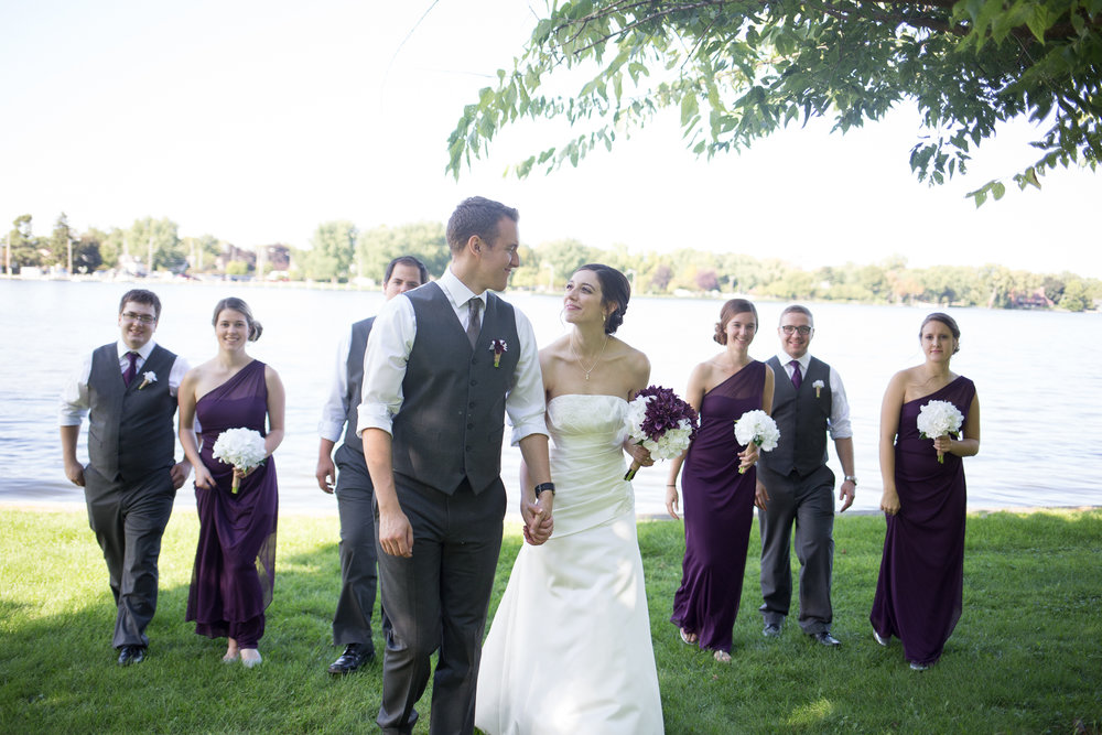 Neenah Wedding at Riverside Park in Wisconsin -Whit Meza Photography
