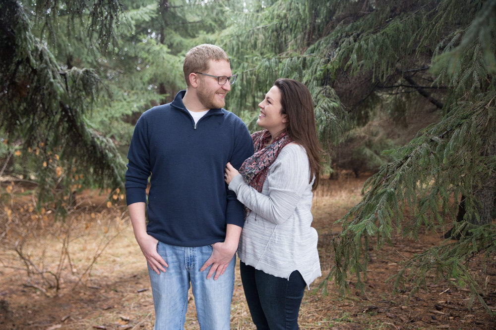 Lake Farm County Park Madison WI Engagement - Whit Meza Photography