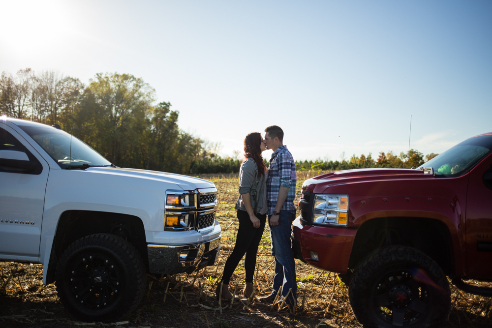 Chevy Truck Engagement Session - Appleton Engagement Photographer - Whit Meza Photography