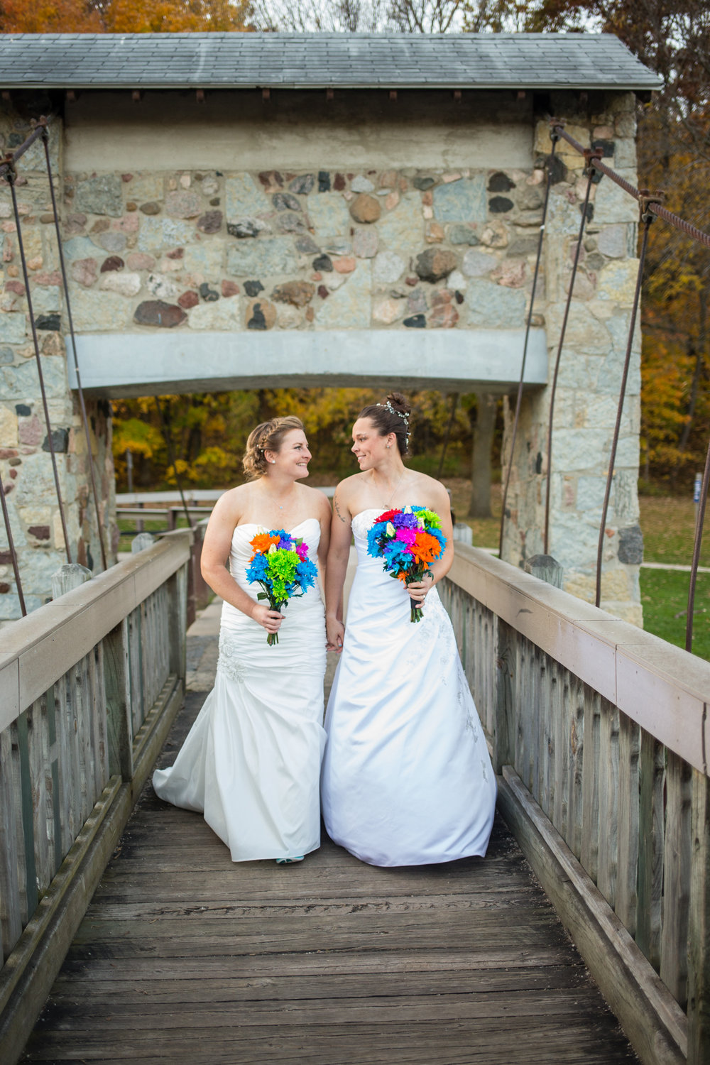 Pamperin Park Wedding Green Bay Wisconsin Same Sex Wedding - Whit Meza Photography
