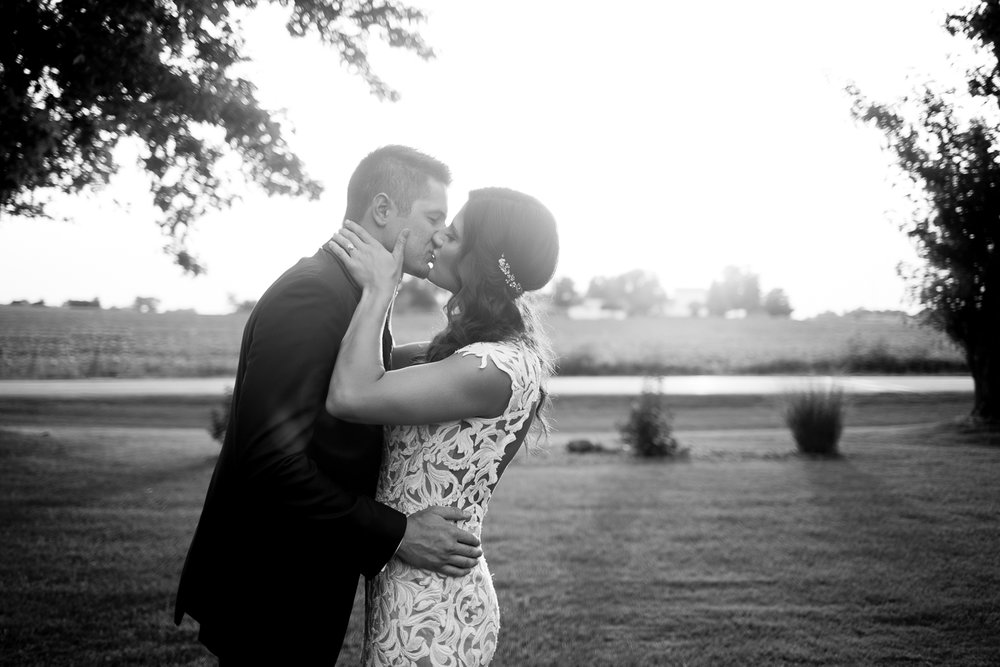 Brighton Acres Oshkosh Wisconsin Barn Wedding - Whit Meza Photography