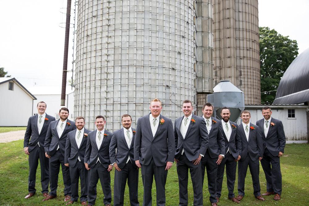Farmview Event Barn Wedding in Berlin Wisconsin  - Whit Meza Photography