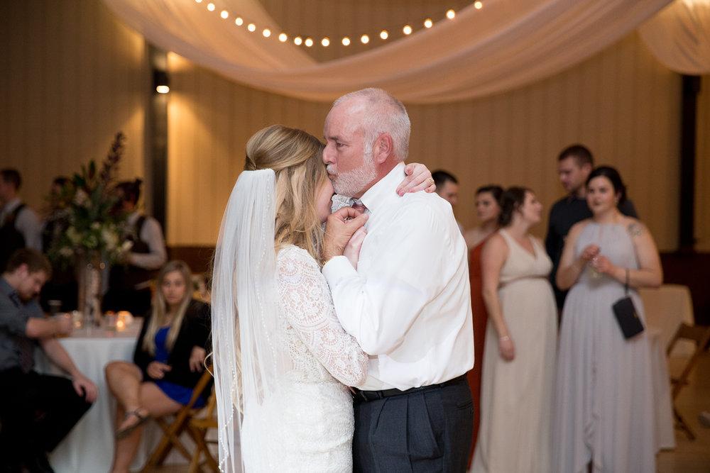 Romantic Barn Wedding at Brighton Acres in Oshkosh Wisconsin - Whit Meza Photography
