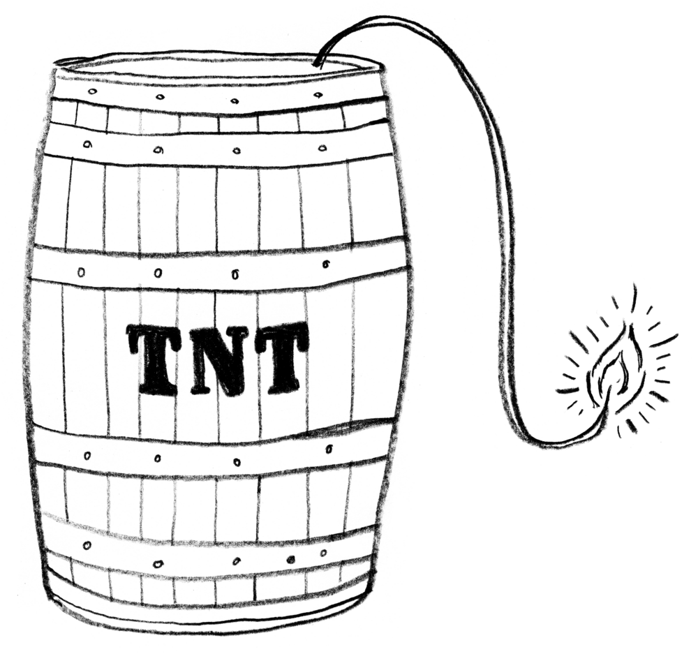 TNT Keg That's KILN's IdeaKeg