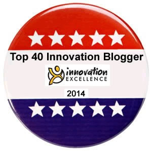KILN is the only company besides Innovation Excellence itself to have two writers named in the Top 40. We've achieved this twice.