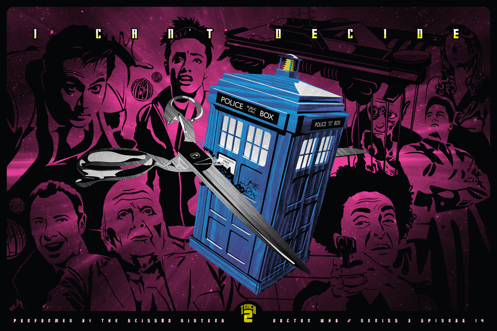 Bryan't 3rd place winning Dr. Who poster.
