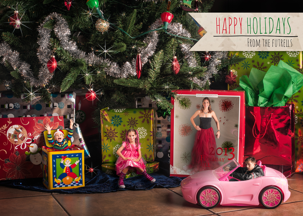 My holiday card for this year, 2013.