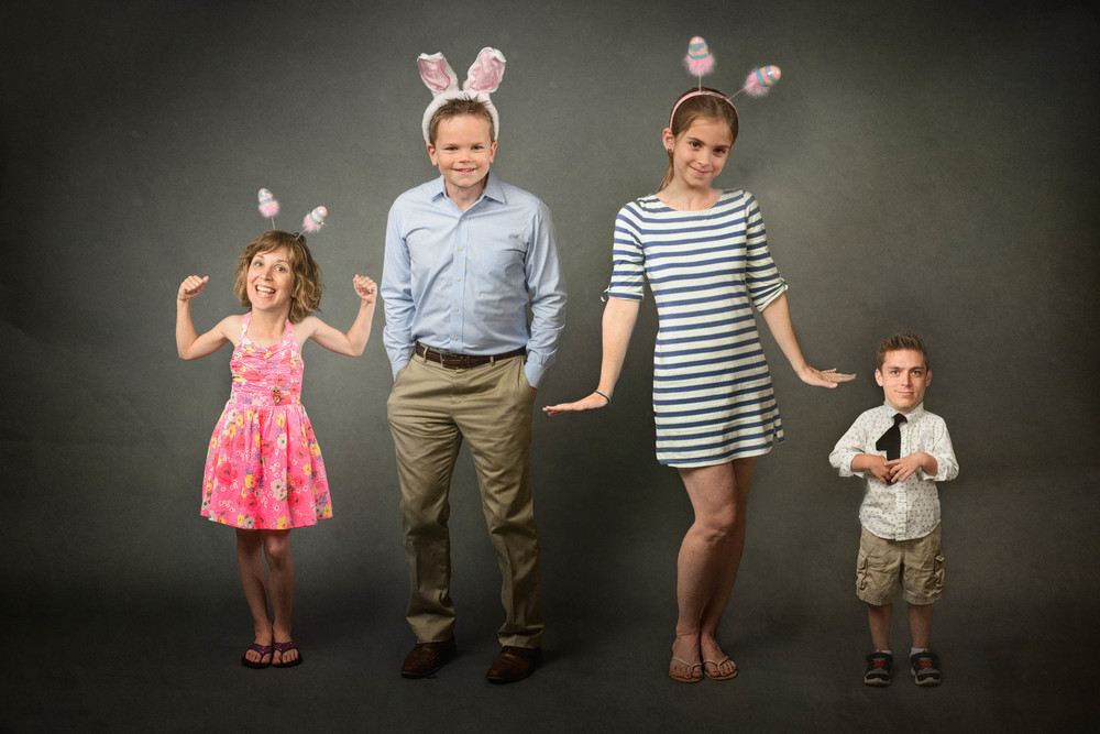 fun creative easter portrait 2014