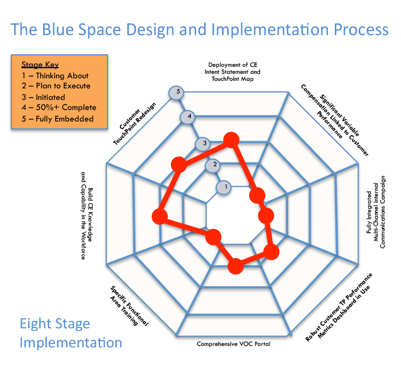 The Blue Space Consulting Design and Implementation Process (click image to enlarge)