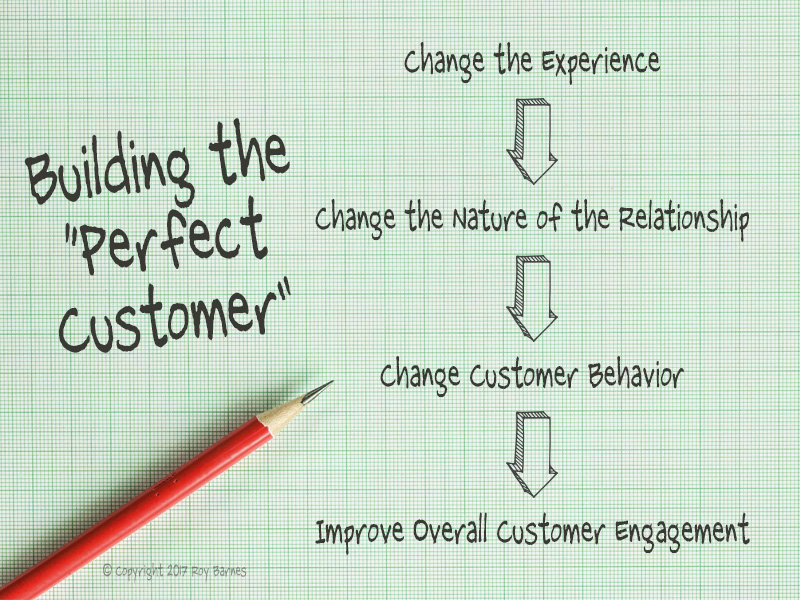 Building the Perfect Customer graphic