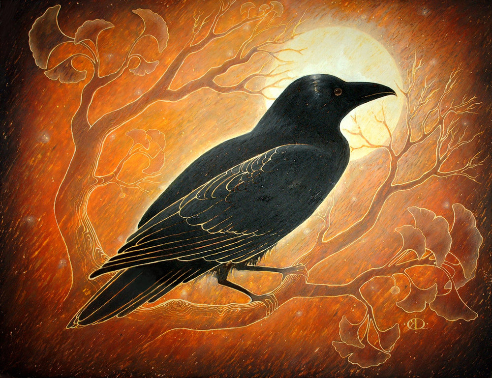 Sri Bhusunda:  The  Great  Chiranjivi  in  the  Form  of  a  Crow