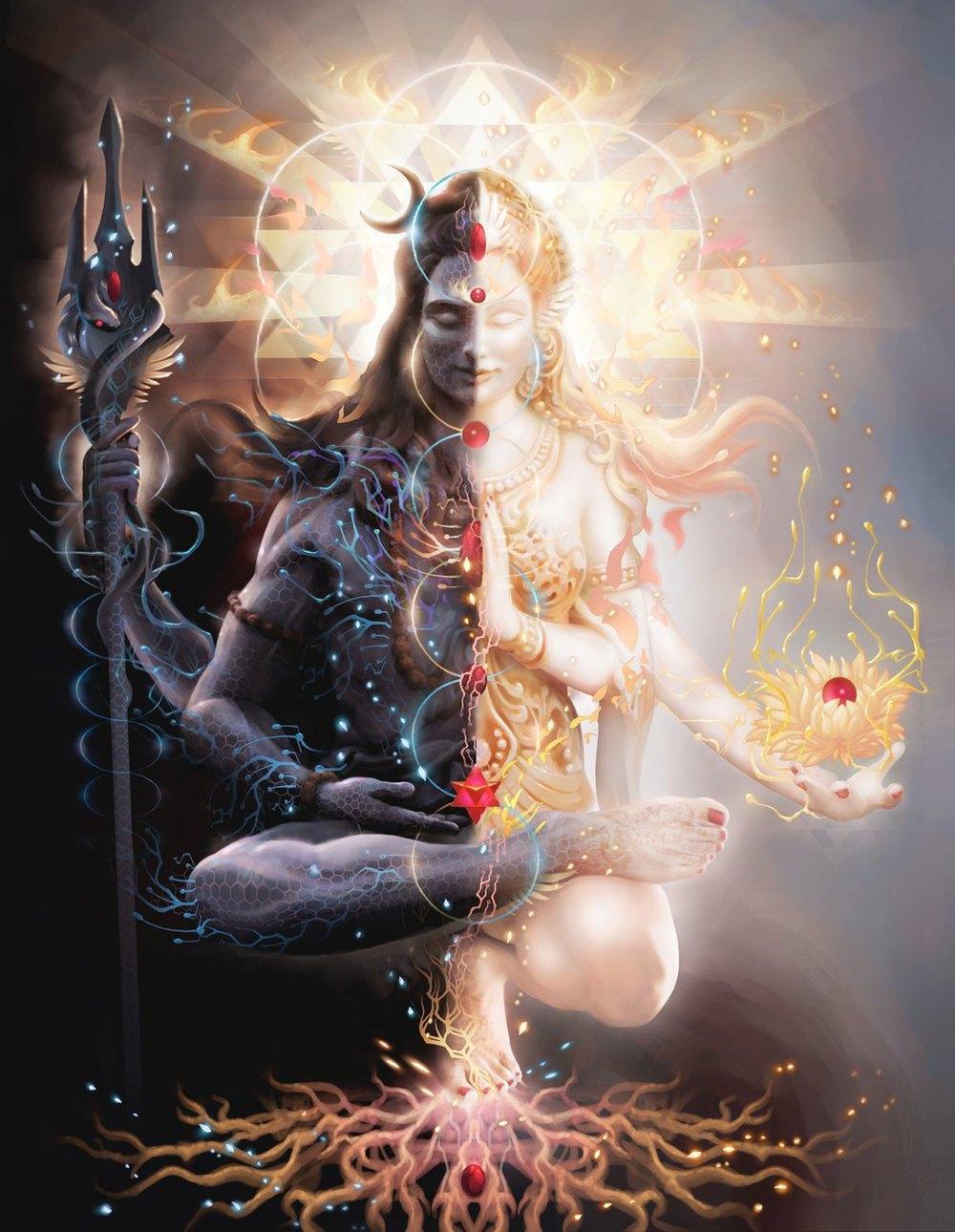Ardhanari: Symbol of the Divine Consciousness, Energy, & Matter