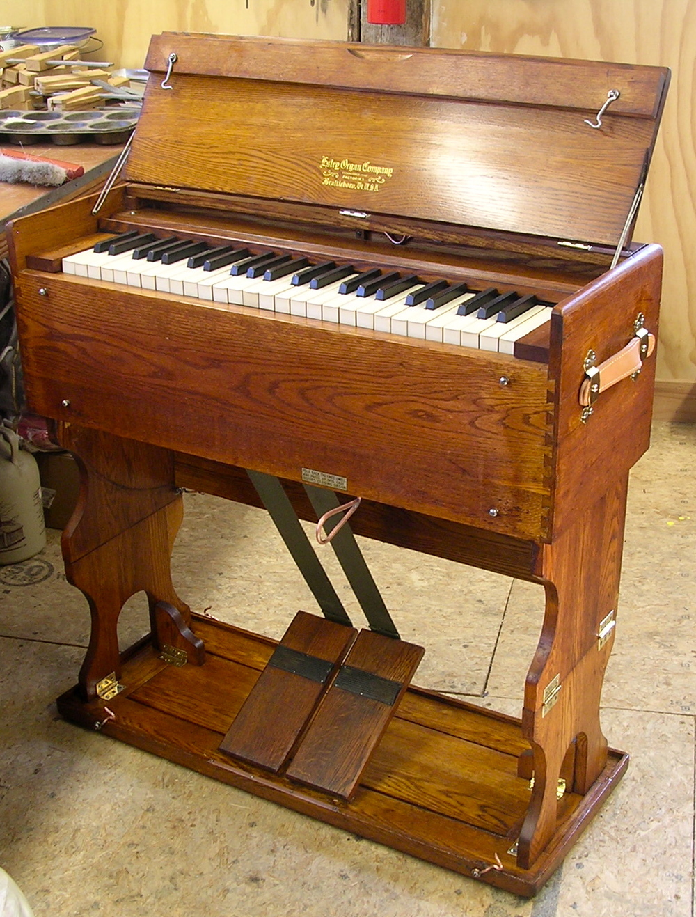 "Estey Organ Co., Brattleboro Vermont  Model ""JJ"" -- 1919 -- Opus 421438   ROS #2840"