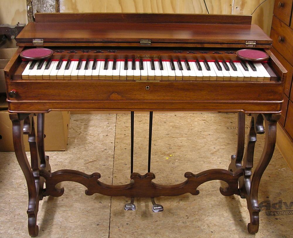 "Estey & Green, Brattleboro, Vermont  ""Perfect Melodeon"" -- 1857 -- Opus 5894   ROS # 4723"