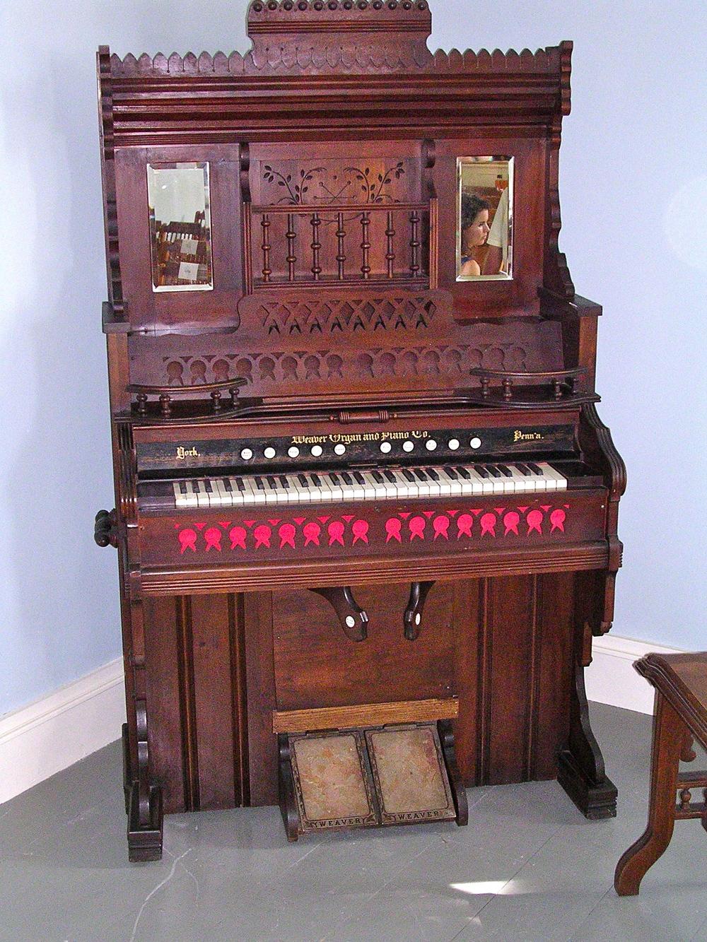 Beth Eden Chapel Weaver/J.F. Hughes & Son, 1895   Opus 17971; Case 16834  ROS # 4316