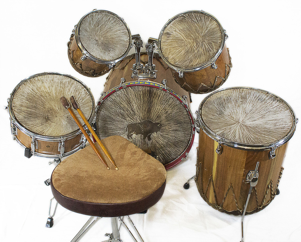 Mesquite Drum Set