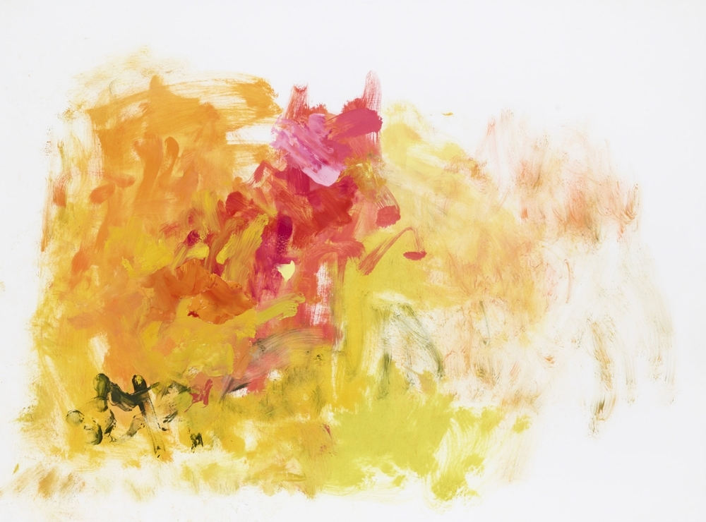 Haiku 19 , 2010, oil on paper, 22.25 x 30 inches (unframed), $2700., 25.75 x 33 x 1.25 inches (framed), $3000. (framed)