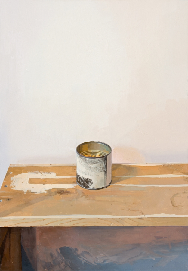 Rembrandt Canister , 2015 oil on panel, 23 x 16 inches, $3500.