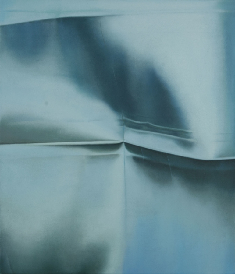 Turquoise No. 1 , 2011, oil on canvas, 28 x 24 inches, $4800.