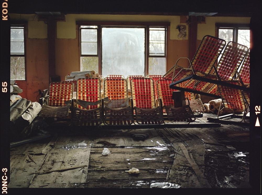 Indoor Pool, Grossinger's Catskill Resort and Hotel, Liberty, New York  , 2016,chromogenic print on Kodak matte paper,26 x 36 inches, edition 1/20,$3000. (unframed), $3500. (framed)    Also available: 16 x 20 inches (unframed), $750. (unframed)