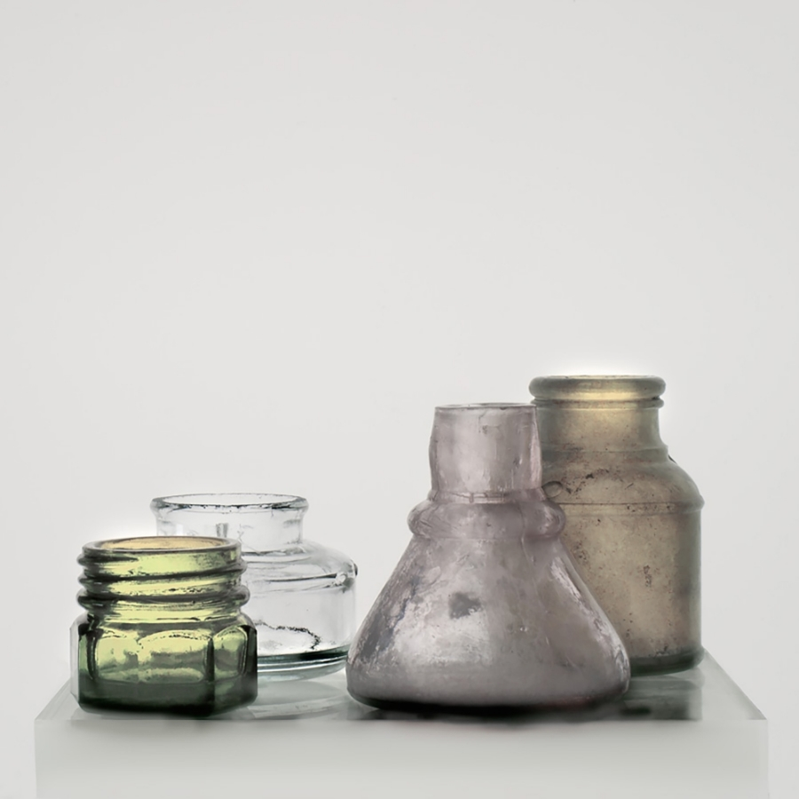 Small Bottles 17 , 2015, archival pigment print on Epson hot press bright paper, 36.50 x 36.50 inches (unframed), $3500. (unframed)