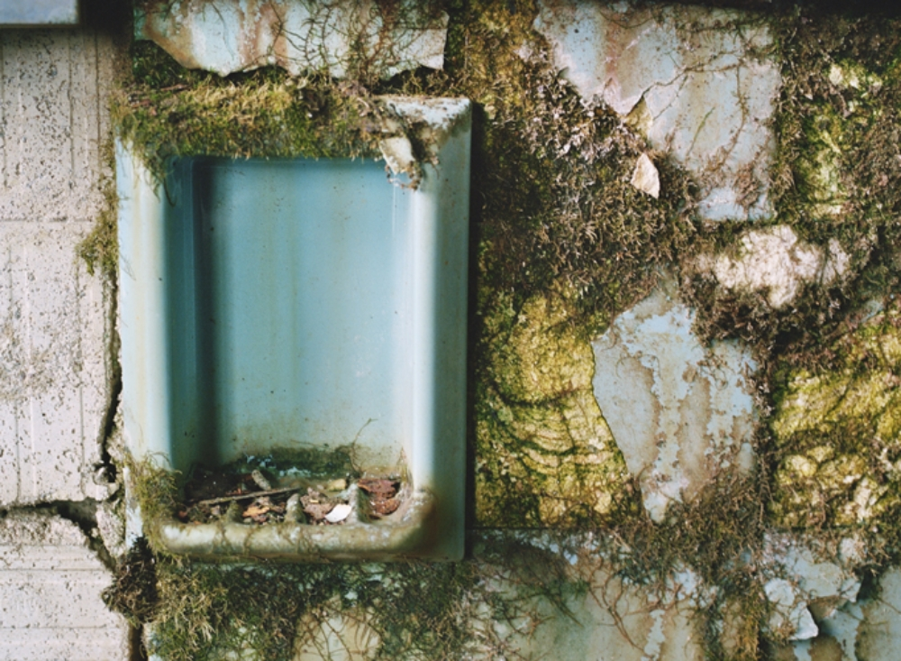 Soap Dish/Bathroom , 2015, chromogenic print on Kodak matte paper, 26 x 36 inches (unframed), edition 1/20, $3000. (unframed), 28.5 x 38.5 inches (framed), edition 1/20, $3500. (framed), also available in 16 x 20 inches, $750. (unframed)