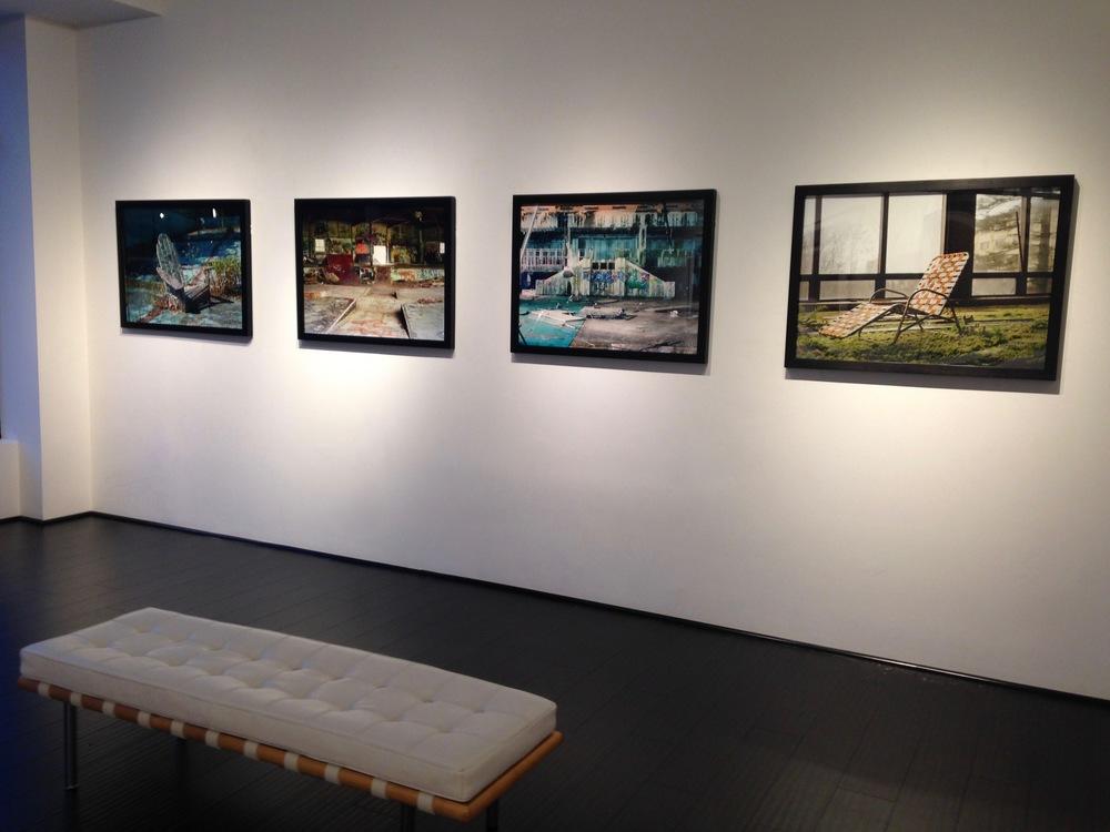 Installation view,  Photo '16  exhibition, 2016