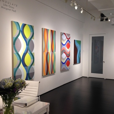 Undulate   Julie Gross and Margaret Neill  Sep 13, 2014 - Oct 31, 2014