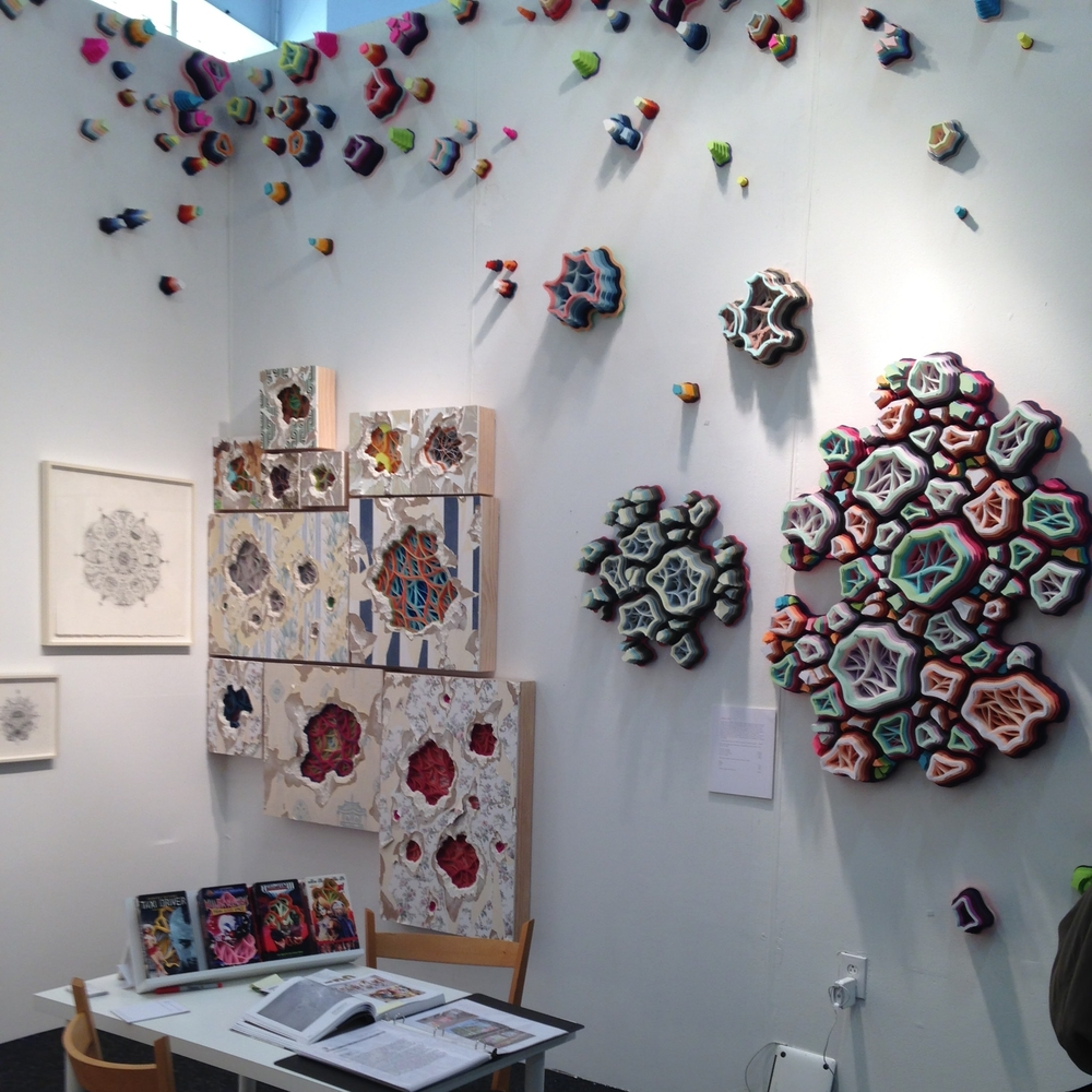 Art Fair Art On Paper Fair December 1, 2015 - December 6, 2015 Pier 36, New York, NY Kenise Barnes Fine Art was pleased to be a part of the inaugural 2015 art on paper fair, showcasing works by Charles Clary, Michiyo Ihara, and Jill Parisi.