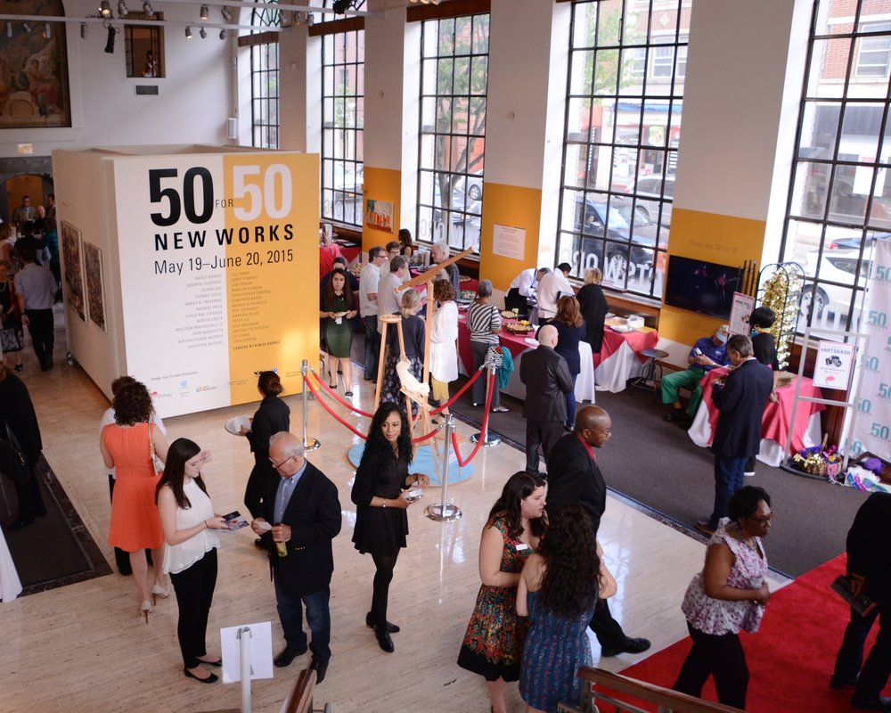 50 for 50: New Works May 10, 2015 - June 20, 2015 Westchester Arts Exchange,                 White Plains, NY