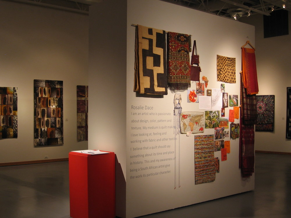 Structure and Improvisation: Contemporary Quilts    January 21, 2011 - May 1, 2011   The Nicolaysen Art Museum,             Casper, WY