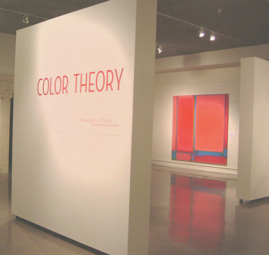 Color Theory April 30 - June 19, 2005 Schweinfurth Memorial Art Center,     Auburn, NY