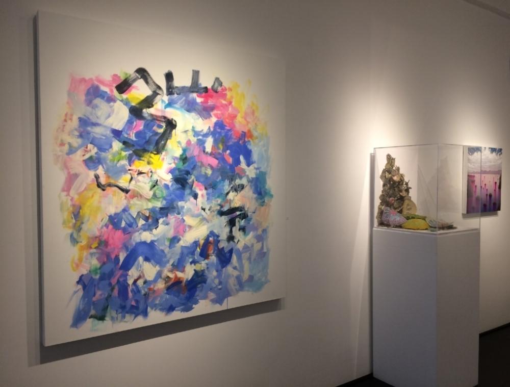 Installation view, Yolanda Sánchez, Jill Parisi, Shane McAdams
