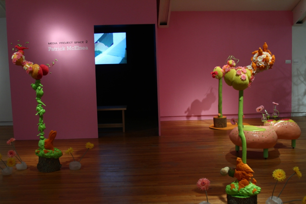 Installation view, Roberley Bell