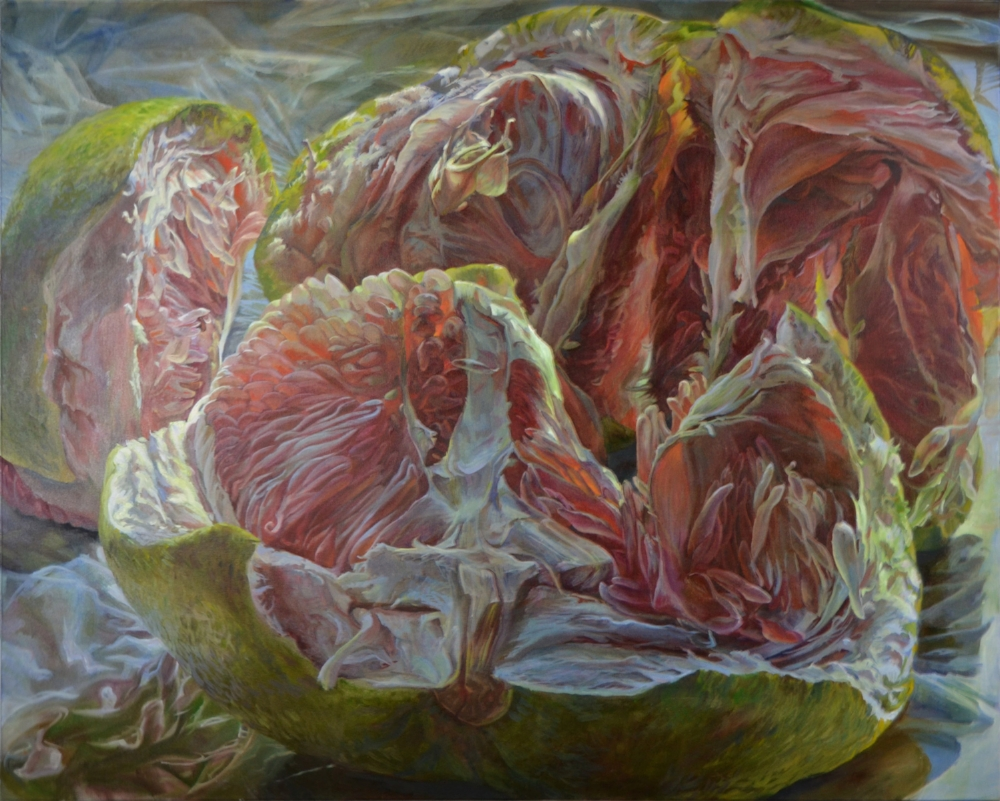 Plato's Cave , 2016, oil on canvas, 48 x 60 inches, $9500.