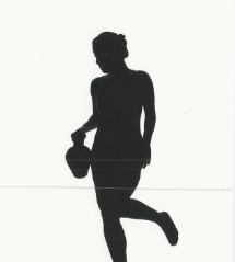 From the Untitled Silhouette Series Joni Sternbach Nov 18, 2000 - Dec 22, 2000