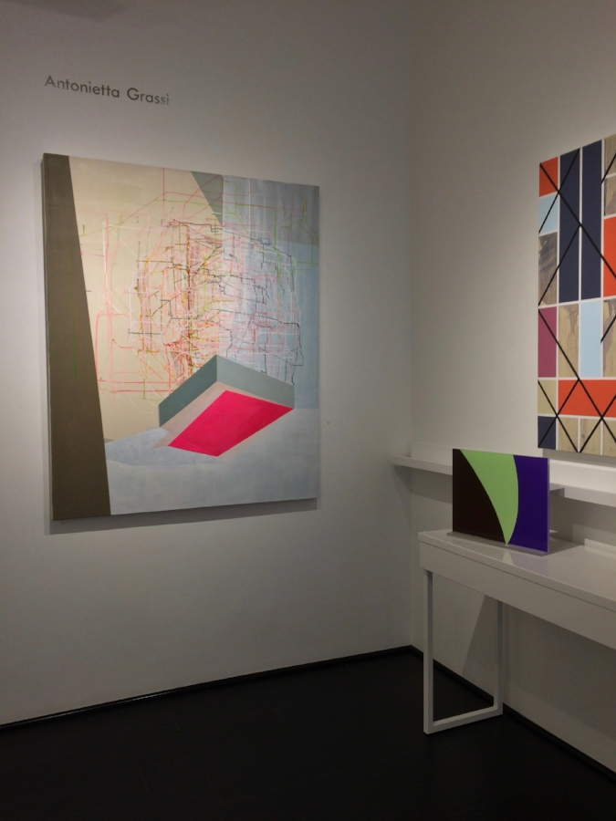 Installation view alongside work by Christian Nguyen and Ann Walsh