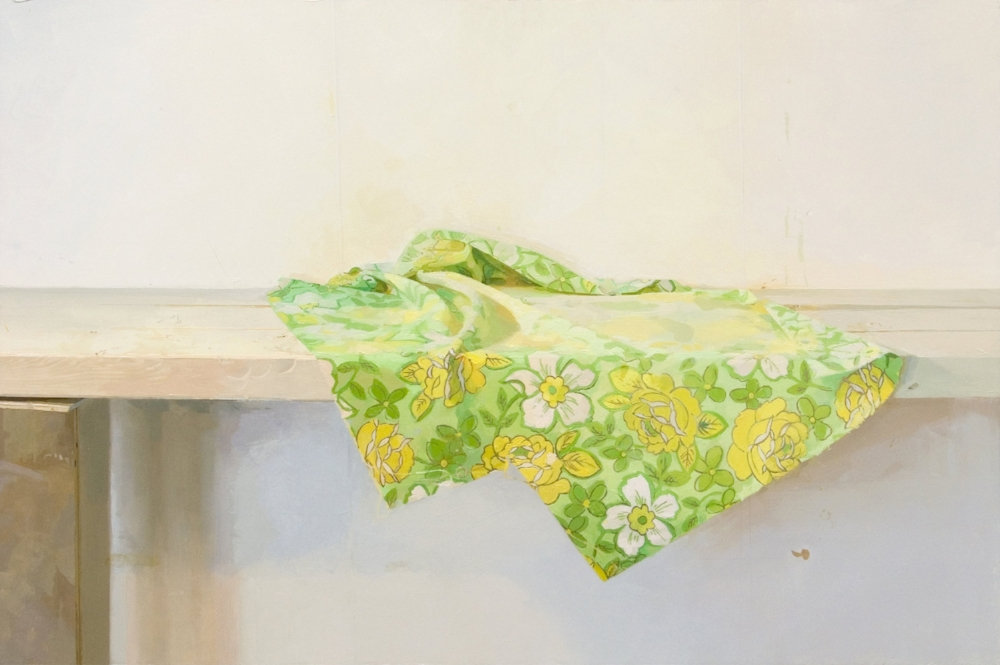 Fragment (Spring Painting) , 2011, oil on panel, 23.5 x 35.5 inches, $4500.