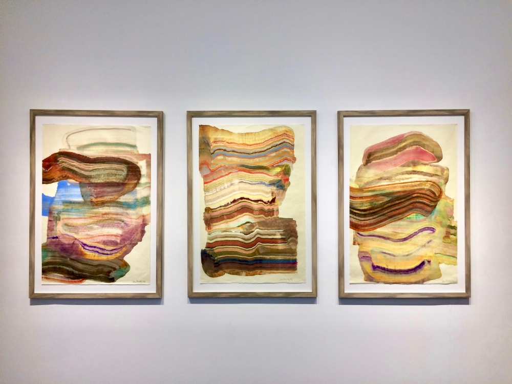 Installation view, Focus, Spring 2017, Laura Moriarty , April - June 2017, Kenise Barnes Fine Art, Larchmont, NY